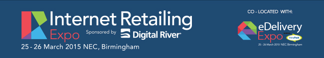 Internet Retailing Expo 2015 Sponsored by Digital River. Co-located with eDelivery Expo 2015